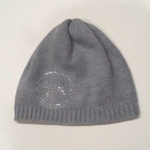 Michael Kors beanie knit diamond rhinestone hat